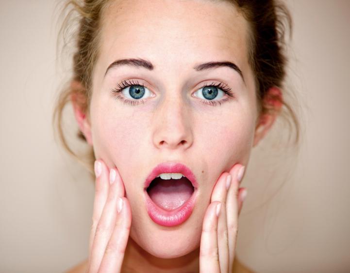 Фотографии с открытым ртом